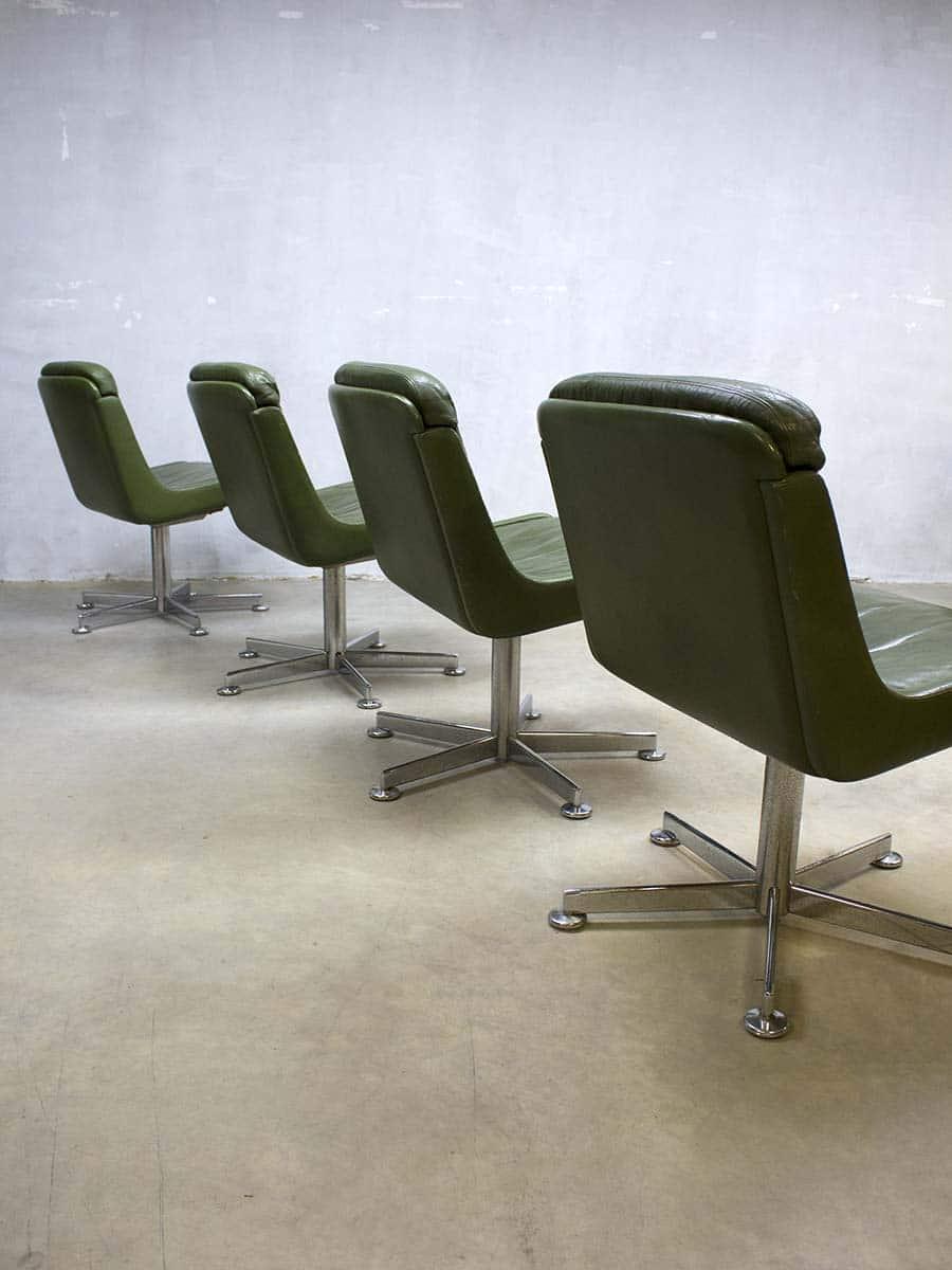 Vintage design bureaustoel lounge chair office chairs