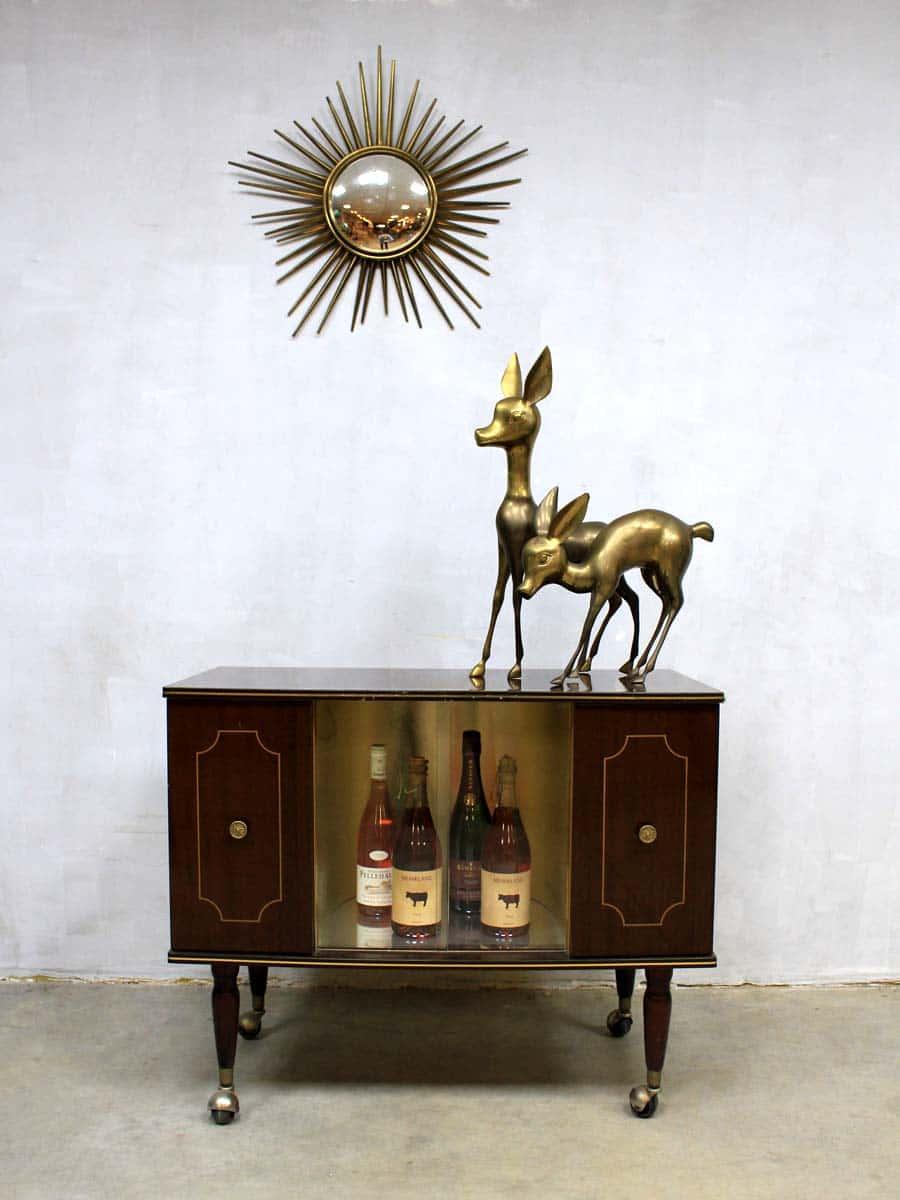 Mid century vintage liquor cabinet vintage drankenkastje