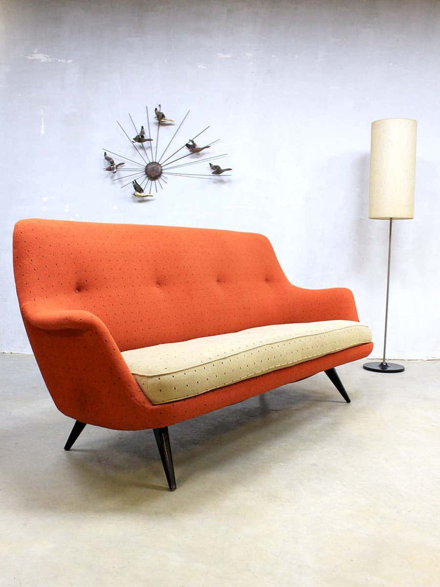 Vintage design lounge chairs  sofa mid century vintage