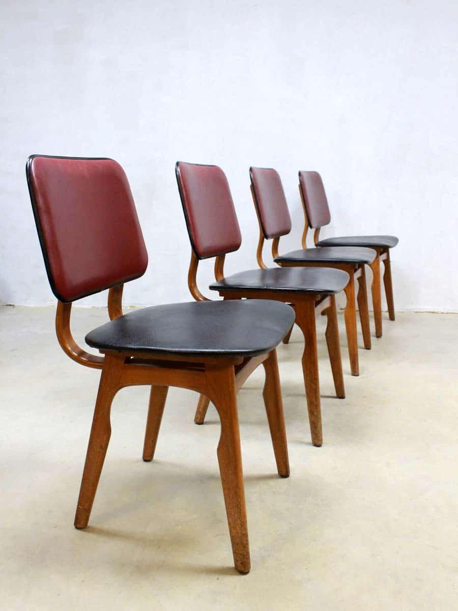 Vintage design Dutch dinner chairs vintage design