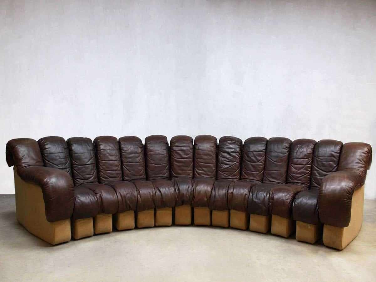 de sede sofa vintage primitive table bank modular ds 600 by berger