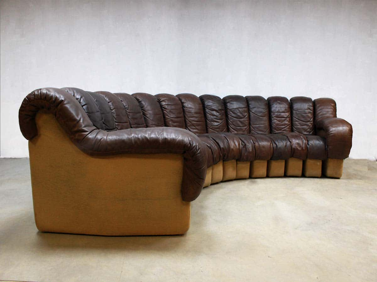 de sede sofa vintage room and board sofas sectionals bank modular ds 600 by berger