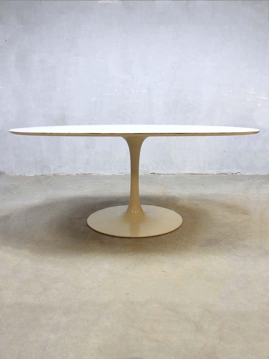 Vintage design ovale eetkamertafel dining table Arkana
