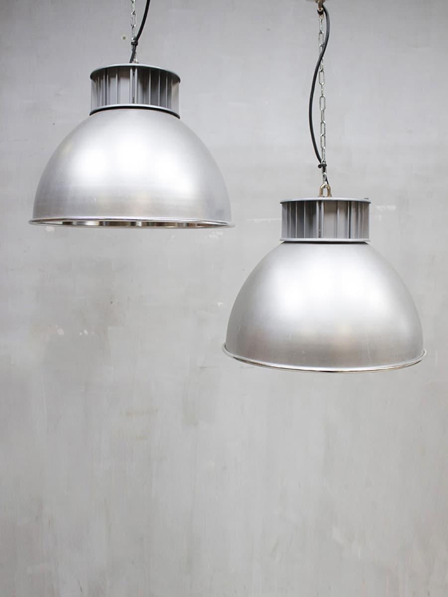 Vintage industrial pendant lamp AEG industrile hanglamp