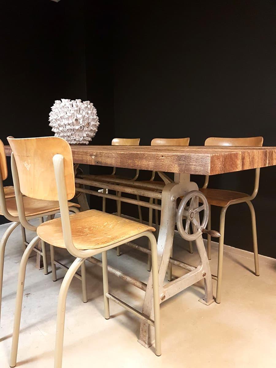 Vintage Industrial bar table dinner table vintage bar
