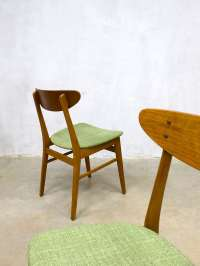 Vintage Danish dinner chairs Farstrup Mbler eetkamerstoelen