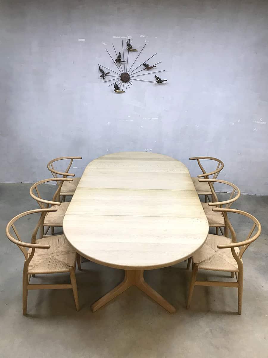 Vintage dining table Skovmand  Andersen Danish design