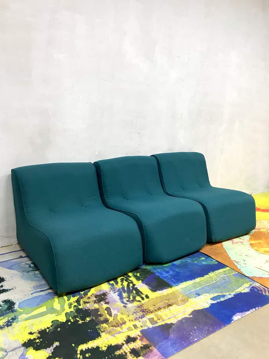 Vintage kids lounge bank game bank sixties kids sofa minimalism
