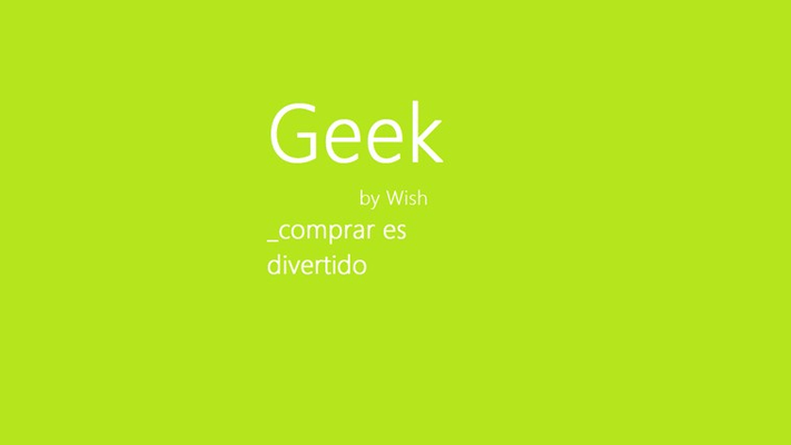 Geek App Wish For Windows 8 And 81