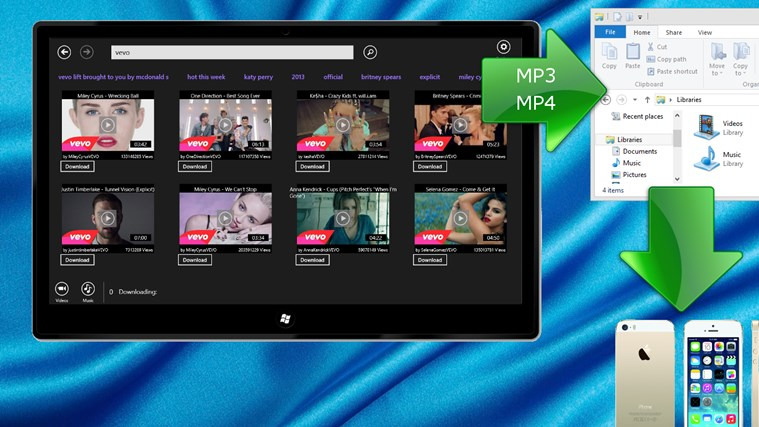 CopyTube - Downloader for YouTube for Windows 8 and 8.1