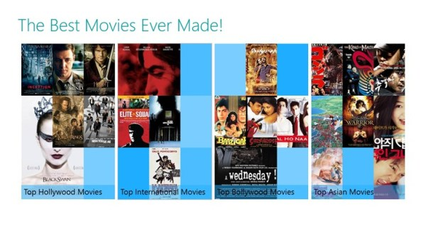The Best Movies Ever Made! for Windows 8 and 81
