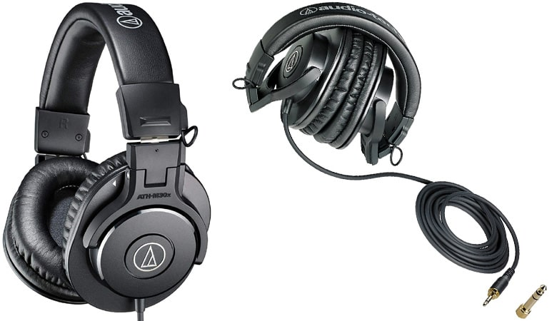 ATH-M30x Best Budget Over Ear Headphones