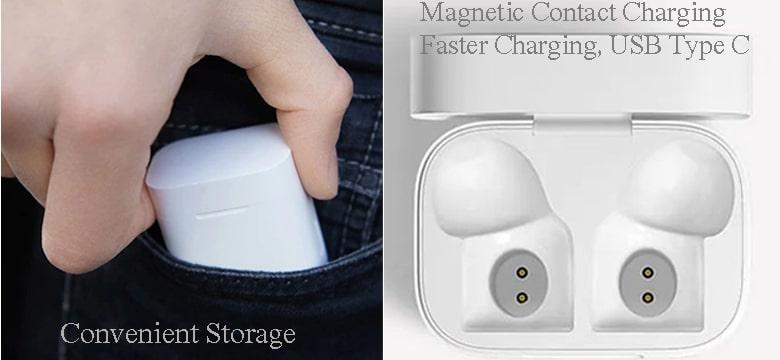 Xiaomi Mi AirDots Pro Magnetic Contact Charging-min