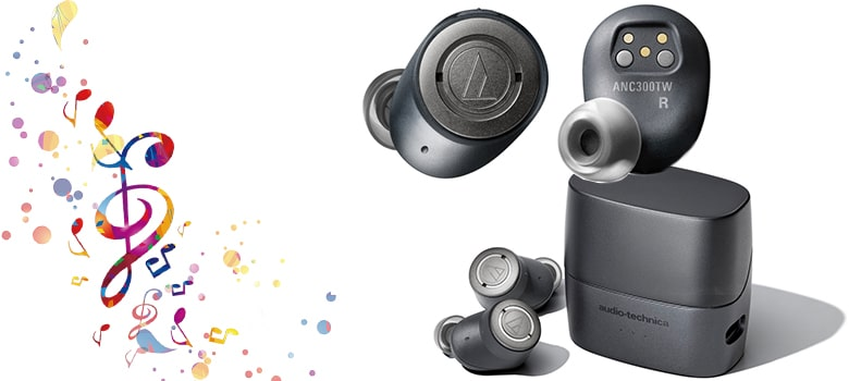 ATH-ANC300TW ANC Earbuds