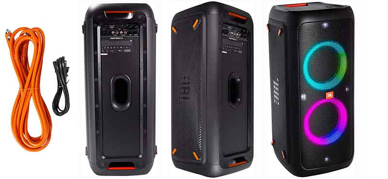 best party speakers - JBL PartyBox 300 High Power Portable Wireless Bluetooth Audio System with Battery