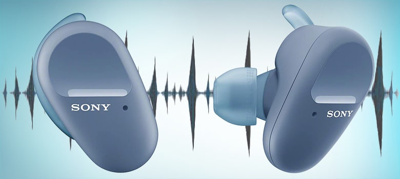 sony wf sp800n true wireless noise cancelling earbuds