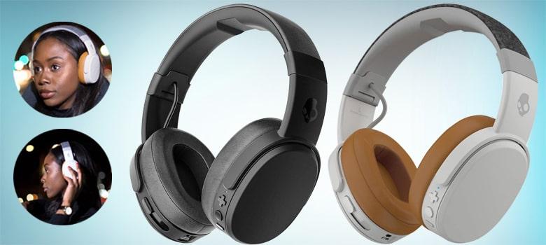 Skullcandy Crusher Wireless Over-Ear Headphone for watching movie