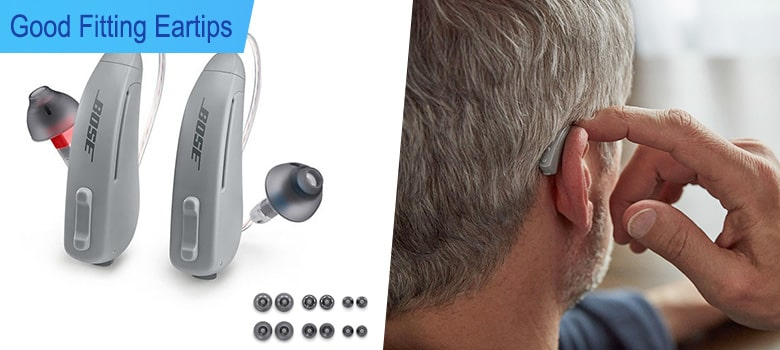 Bose Soundcontrol Hearing Aids - Fitting Ear tips