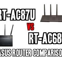 RT-AC87U vs RT-AC68U – Asus Router Comparison