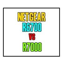 Netgear R6700 vs R7000 Nighthawk Comparison