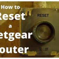 How To Reset A Netgear Router (Factory Default Settings)