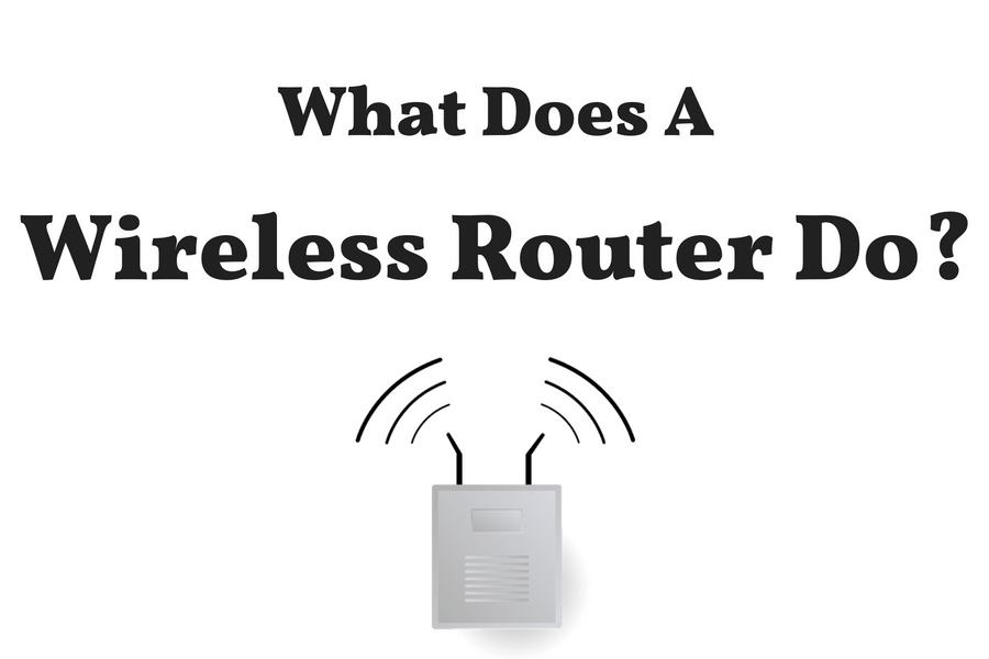 What does a router do?