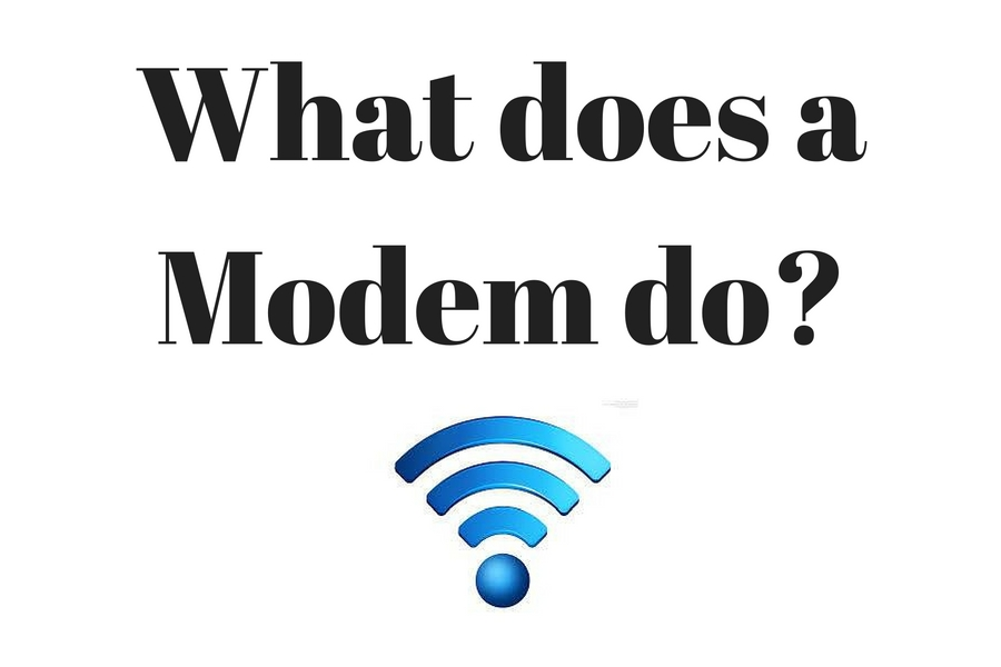 What Does A Modem Do? What Is A Modem? How Does A Modem Work?