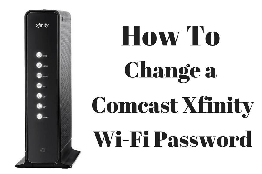 How To Change Comcast XFINITY WiFi Password  New XFINITY