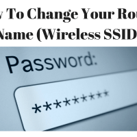How To Change Your Router Name (Wireless SSID)