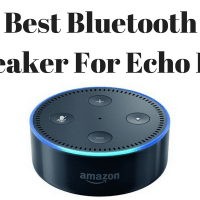 Best Bluetooth Speaker for Echo Dot