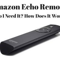 Amazon Echo Remote: Do I Need Echo's Voice Remote?