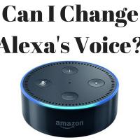 Can I Change Alexa's Voice?