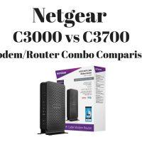 Netgear C3000 vs C3700