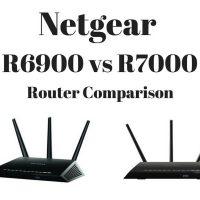 Netgear R6900 vs R7000 Router Comparison