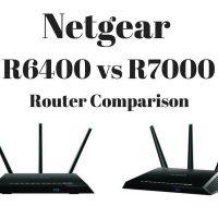Netgear R6400 vs R7000 Router Comparison