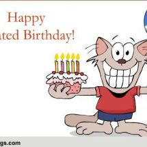 Belated Birthday Clipart Happy Wishes
