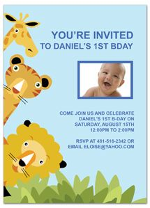 first birthday invitation wording for
