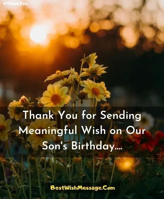 Happy Birthday Thank You Quotes : happy, birthday, thank, quotes, Thank, Birthday, Wishes, Behalf