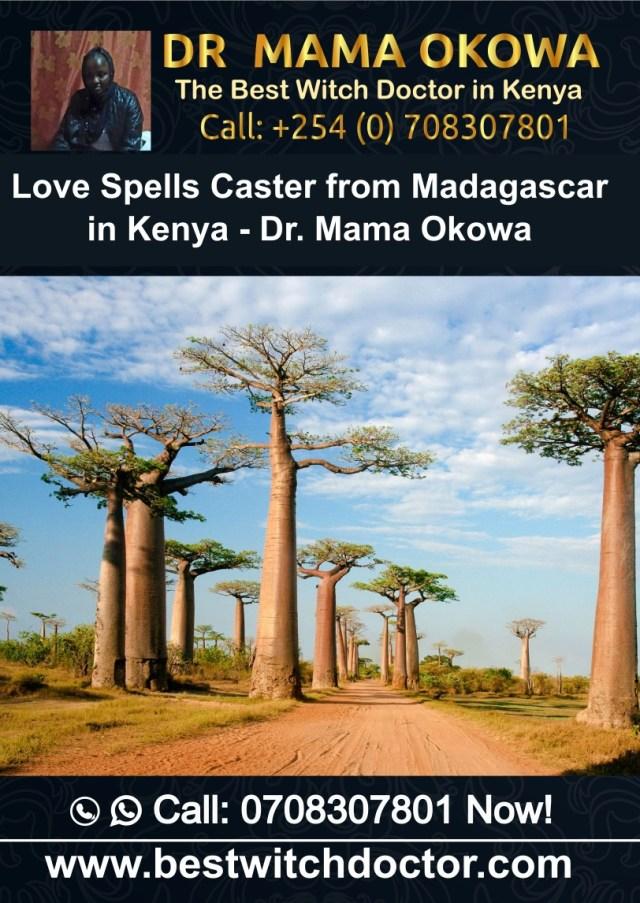 Love Spells Caster from Madagascar in Kenya - Dr. Mama Okowa