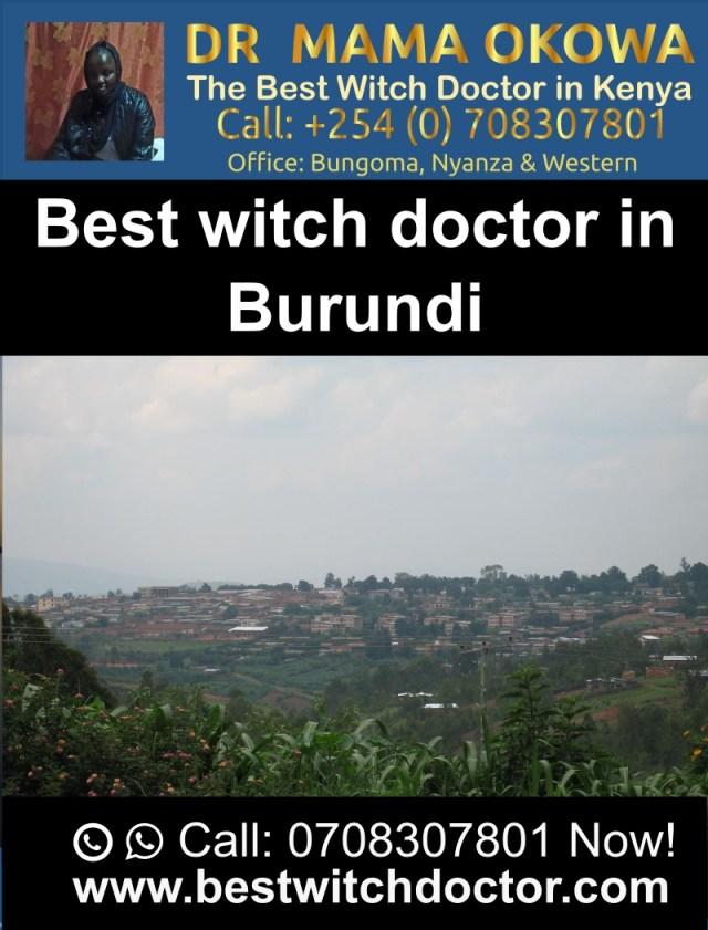 Best Witch Doctor in Burundi