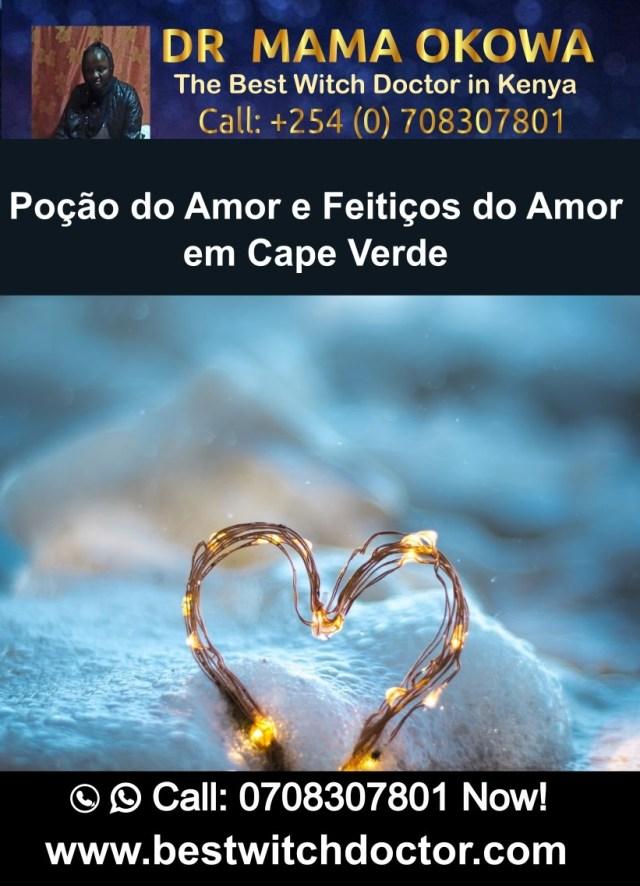 Poção do Amor e Feitiços do Amor em Cape Verde