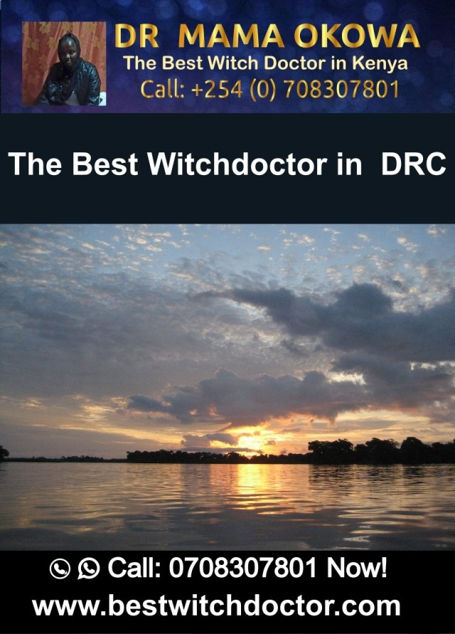The Best Witchdoctor in Democratic Republic of Congo, DRC