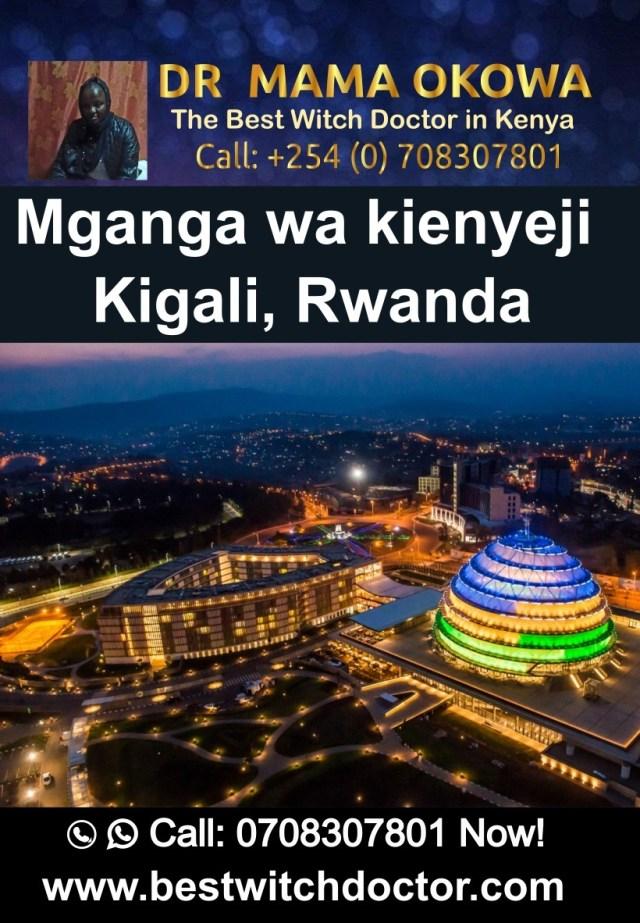 Mganga wa kienyeji Kigali, Rwanda