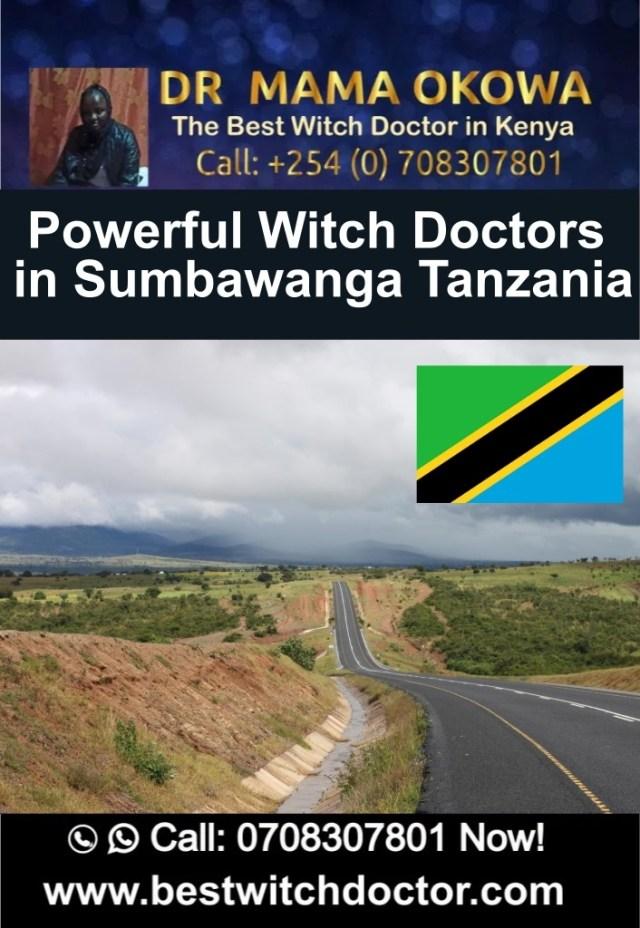 Powerful Witch Doctors in Sumbawanga Tanzania