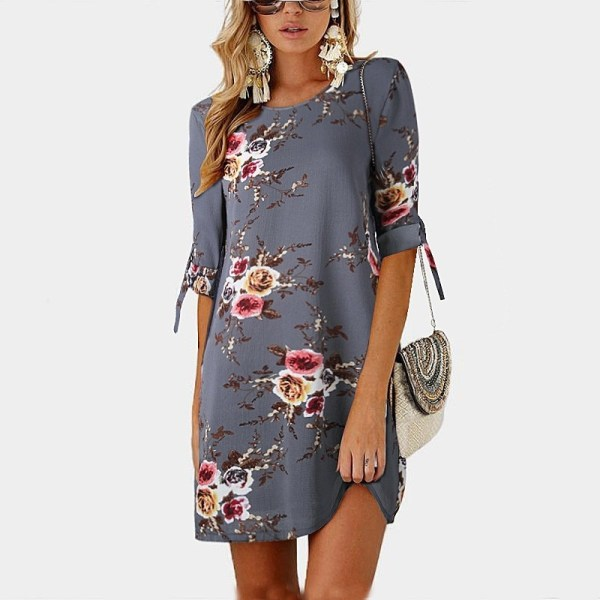 Chiffon Beach Dress Tunic Sundress