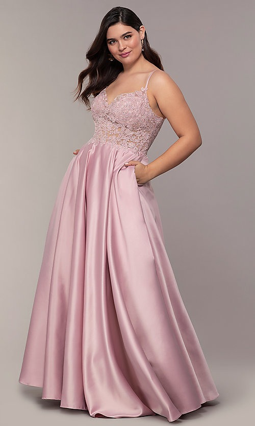 Plus Size Prom Dresses by The Dress Outlet