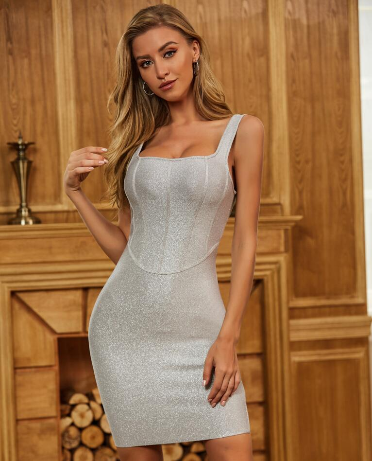 The Perfect Way To Control Your Body Shape With A Bandage Dress