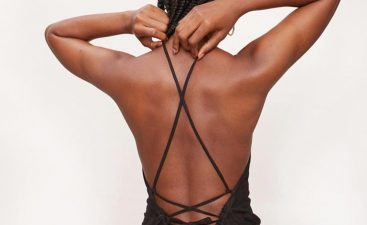 Go Braless With a Backless Dress