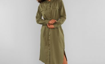 Wear Leggings Similar To This Shirt Dress To Look Good On A Girl
