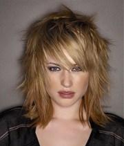 medium hairstyles women 2014